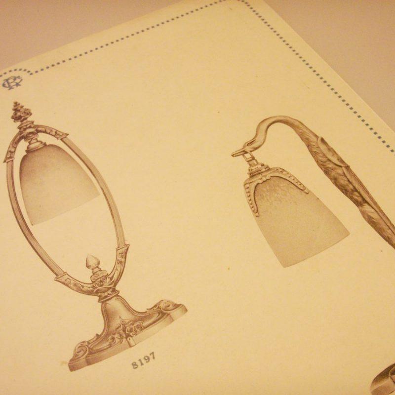 "Lampensalon Katalogseite ""Charles Ranc"""