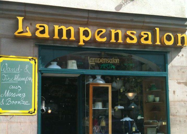 Lampensalon Nürnberg Fassadenansicht